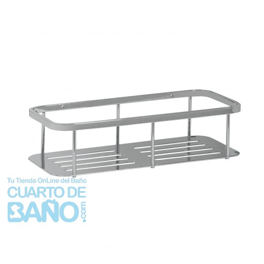 Jabonera rectangular S1 SERIES Salgar 23506  CuartodeBaño.com