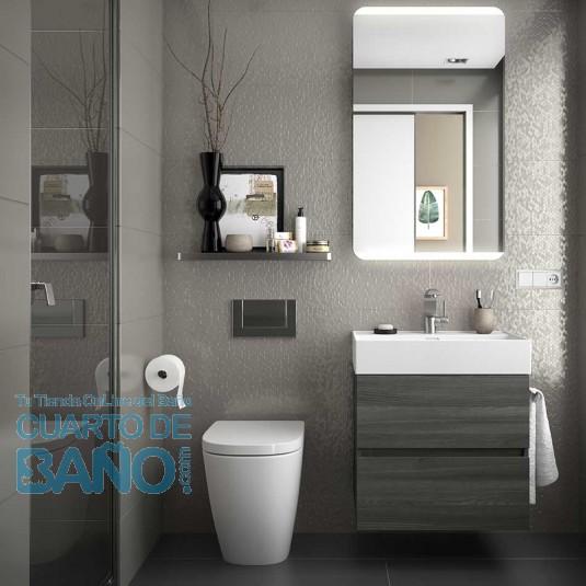 Mueble de baño FUSSION LINE Salgar suspendido 60 cm con LAVABO