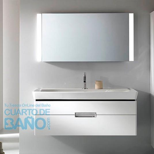 Mueble de baño REVE 2 cajones L120 cm de Jacob Delafon