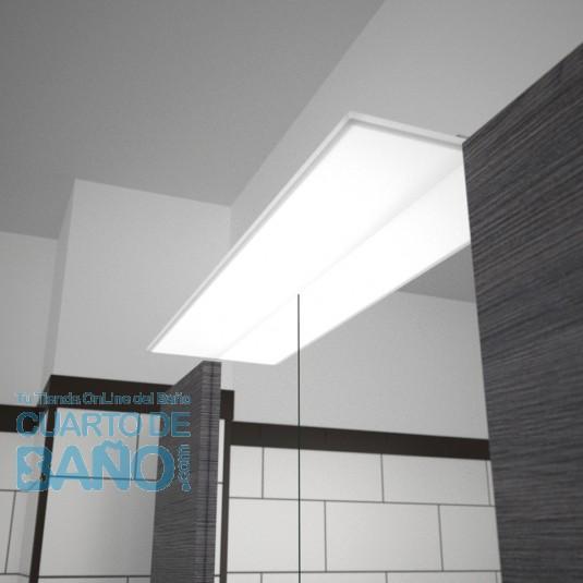 Aplique baño ALLIANCE 1000 Salgar iluminación led (12W) 23573  CuartodeBaño.com