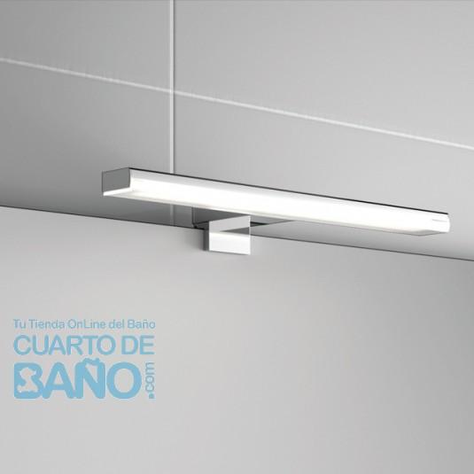 Aplique baño PANDORA 608 Salgar 608x112x15 multienganche iluminación led (12w) 23535  CuartodeBaño.com