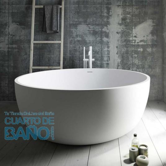 Bañera ARAL de SolidSurface redonda exenta 150x56 cm Baños 10