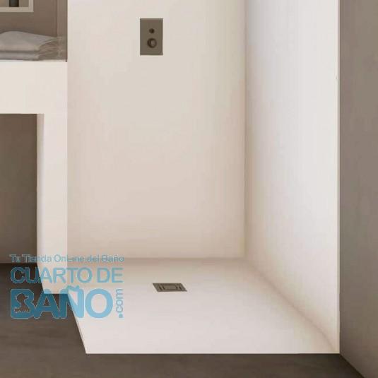 Plato de ducha Solid Surface BASIC de BSurface