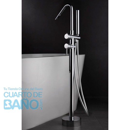 Grifo pie bañera serie Córcega BBECO1 de IMEX Griferia