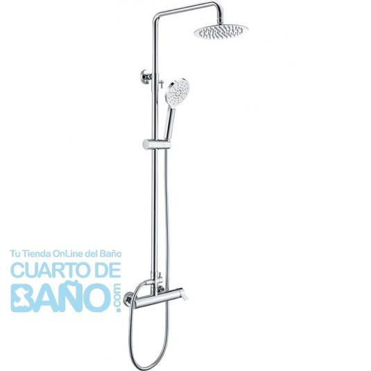Barra de ducha serie Elba BDA022/BL de IMEX Grifería