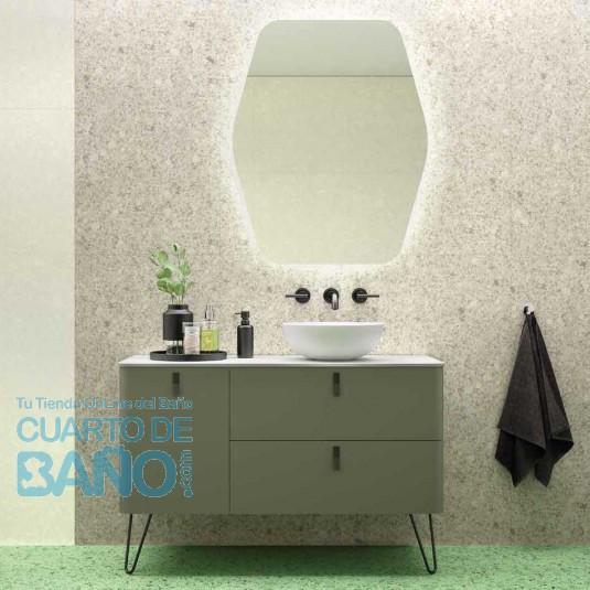 Mueble de baño UNIIQ BOSQUE Mate Salgar 120 cm