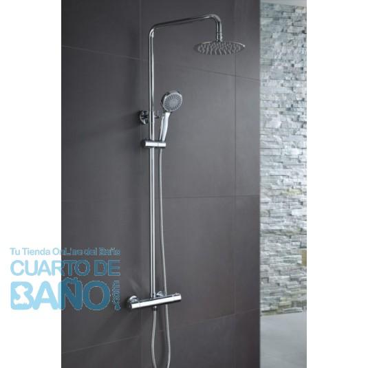 Barra de ducha termostatica serie Londres BTL011 de IMEX Grifería