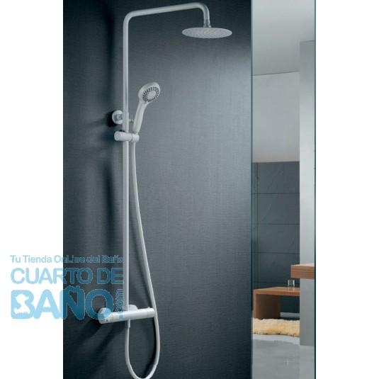 Barra de ducha termostatica serie Londres BTL011/BL de IMEX Grifería