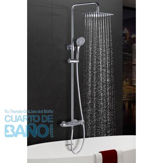 Barra de ducha termostatica serie Sidney BTS016 de IMEX Grifería