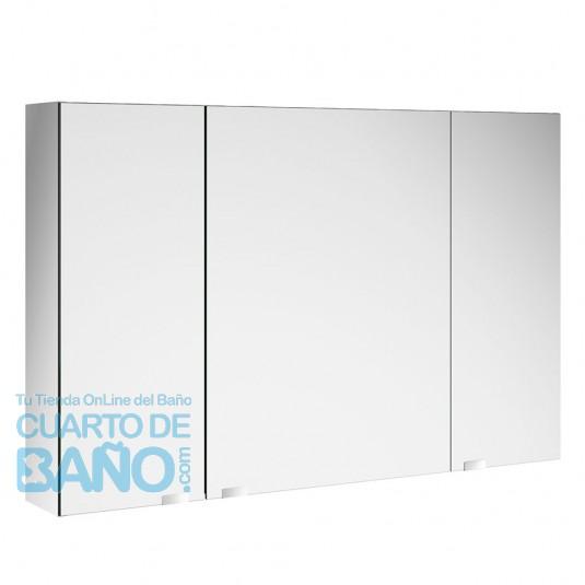 Armario de baño con espejo doble ALLIANCE Salgar 1000 con interruptor y enchufe  CuartodeBaño.com