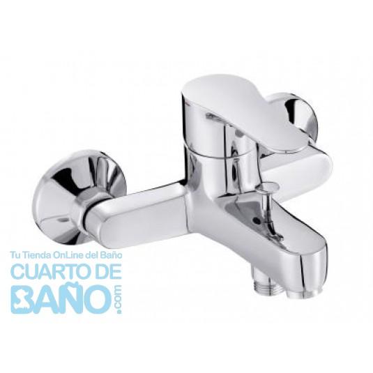 Grifo de baño-ducha monomando inst.mural JULY cromo Jacob Delafon E160334CP