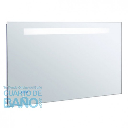 Espejo baño 1000x650 iluminación led, reloj digital y antivaho JCD-EB1161-NF