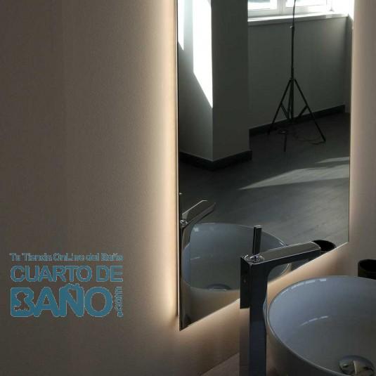 Espejo Baño REFLEXO 800 Salgar H/V led (13,44 W) 20740  CuartodeBaño.com