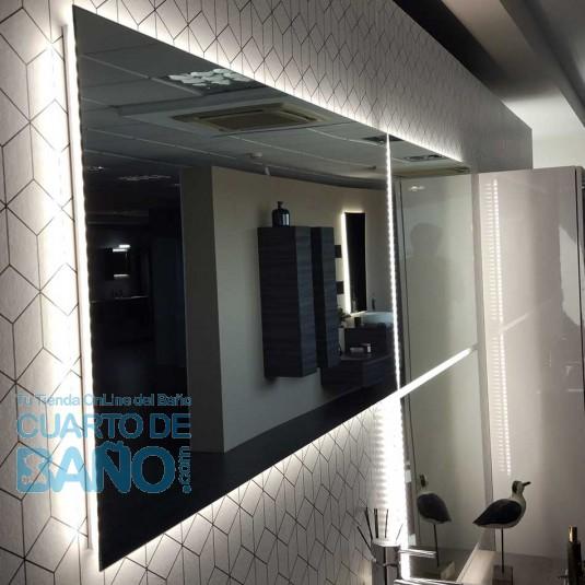 Espejo Baño REFLEXO 120 CM Salgar H/V led