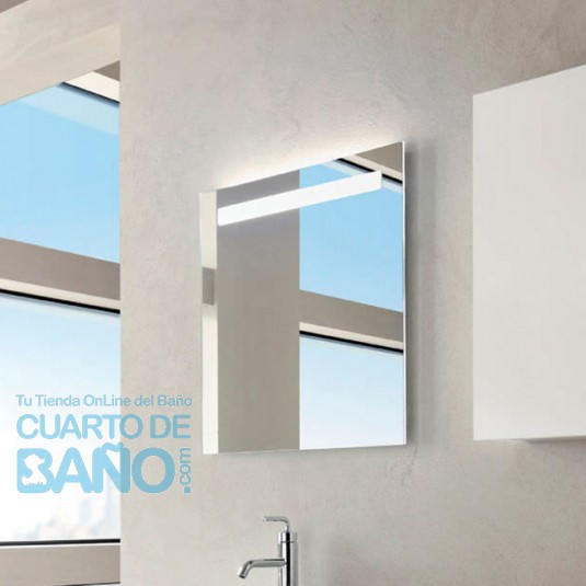 Espejo baño 700x650 iluminación led y antivaho JCD-EB1412-NF
