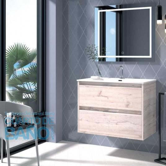 Mueble de baño ETNA Duplach 2 cajones decape