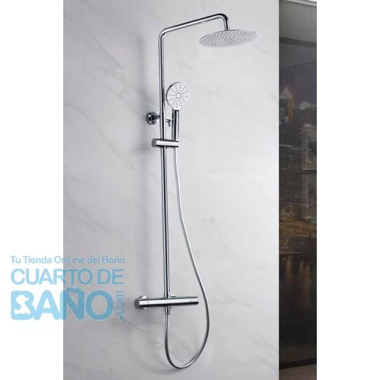 Barra de ducha termostatica serie Amsterdam GTAM015 de IMEX Grifería