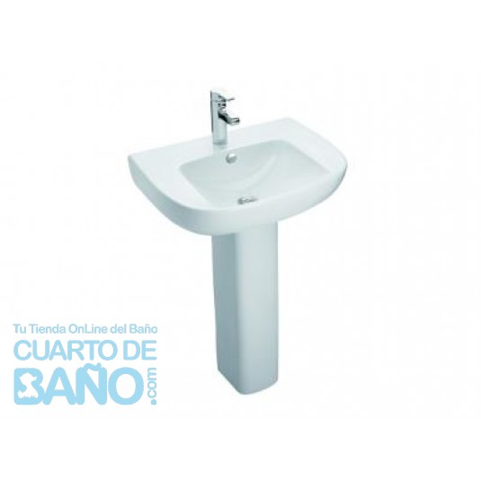 Lavabo completo ODEON UP blanco JDC-LAVODEUP1