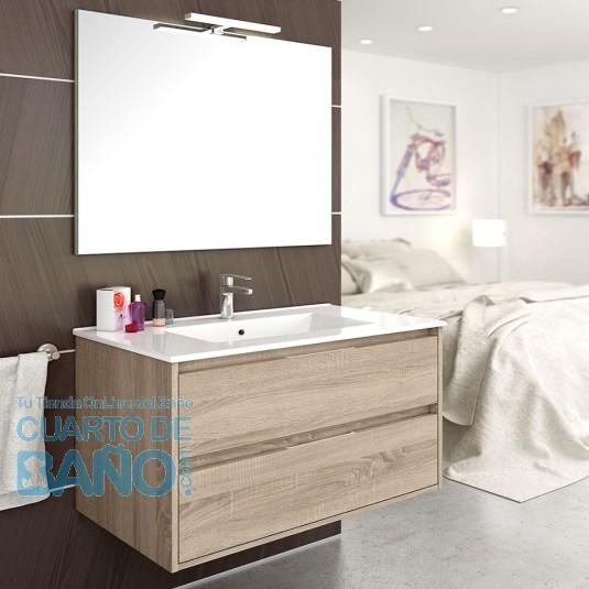 Mueble de baño LONDRES con 2 cajones. De 60 | 80 | 100 | 120 cm
