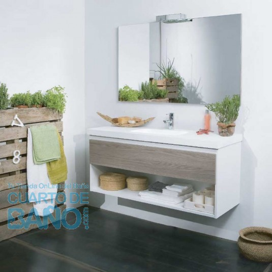 Mueble de baño LIFE Baños 10 bicolor