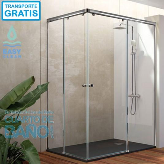 Mampara de ducha angular ONDA ON607 Kassandra.