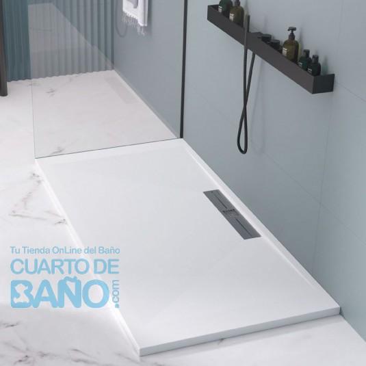Plato de ducha resina SIDE de DUPLACH de carga mineral y gel coat