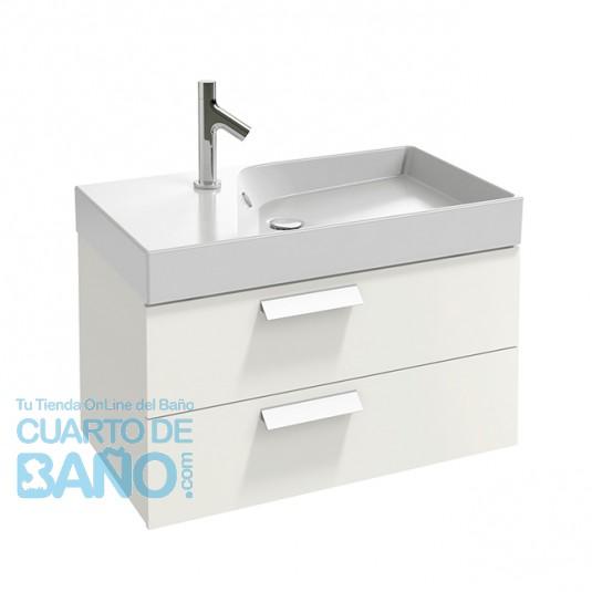 Mueble de baño 2 cajones RYTHMIK 80 cm de Jacob Delafon