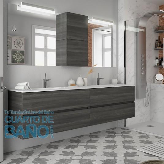 Mueble de baño FUSSION LINE Salgar suspendido 200 cm con ...