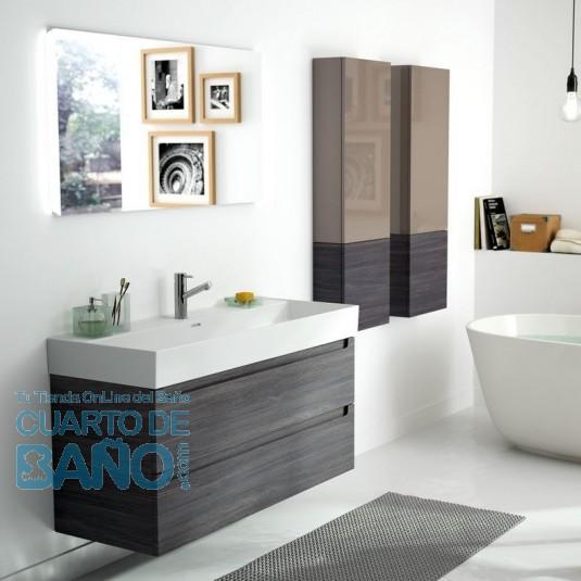 Mueble de baño MONTERREY Salgar 2 CAJONES suspendido 120 cm
