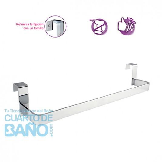 Toallero lateral para mueble de baño SIN TALADRO OXEN