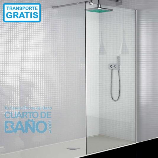 Mampara de ducha hoja fija 300 TR003 sin fijo opcional TR004 de Kassandra.