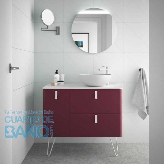 Mueble de baño UNIIQ GRANATE Mate Salgar 120 cm