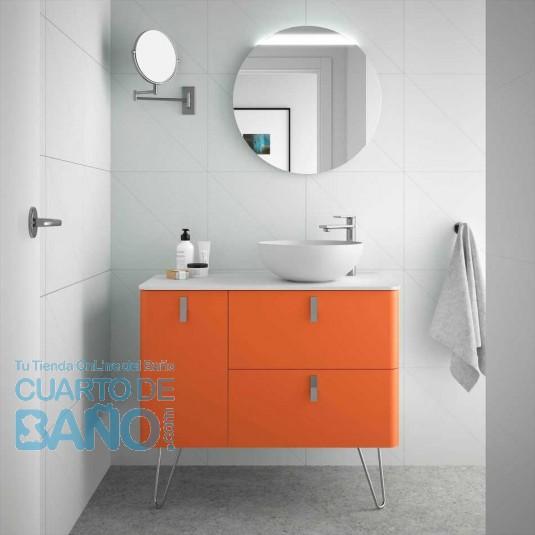 Mueble de baño UNIIQ KAKI Mate Salgar 90 cm