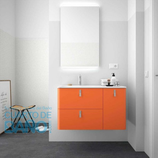 Mueble de baño UNIIQ KAKI Mate Salgar 120 cm (Muebles)