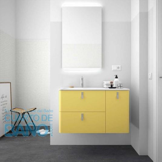 Mueble de baño UNIIQ PAJA Mate Salgar 120 cm