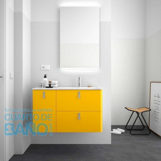 Mueble de baño UNIIQ SOL Mate Salgar 90 cm