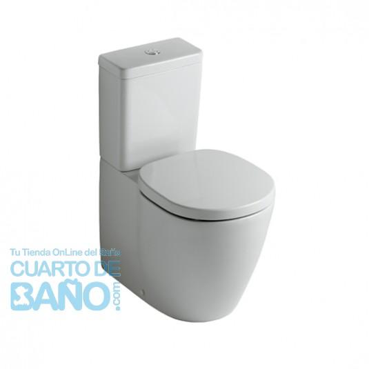 Inodoro completo con cisterna CÚBICA a pared CONNECT Ideal Standard