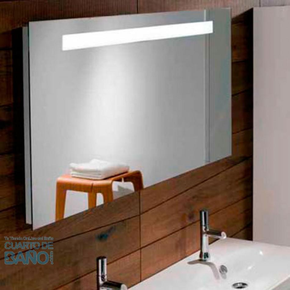 Espejo baño 1600x650 iluminación led y antivaho EB1422