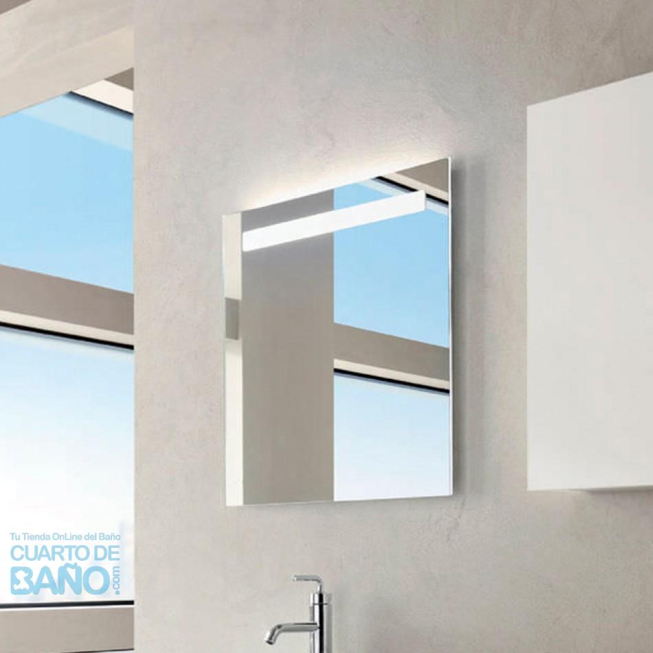 Espejo baño 700x650 iluminación led y antivaho EB1412-NF