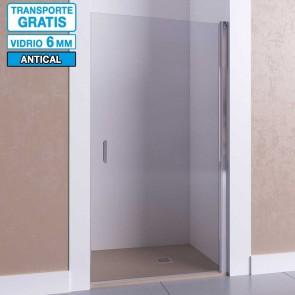 Mampara de ducha frontal con puerta abatible AFRODITA de Seviban.