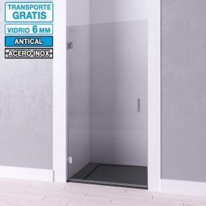 Mampara de ducha frontal con puerta bisagras LOTO de Seviban.