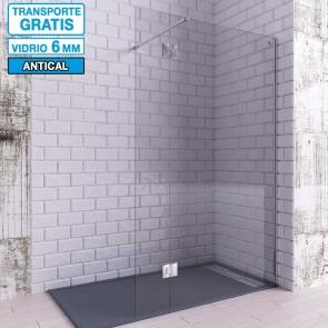 Mampara de ducha Hoja Fija + Abatible Bisagras LIBO de Seviban