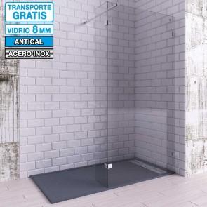 Mampara de ducha dos Hojas Fijas con Pinzas VETUS de Seviban
