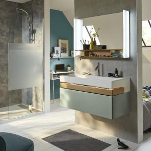 Mueble de baño TERRACE con lavabo de 100 cm