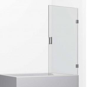 Mampara de bañera Acero INOX. MALIBU de GlassInox. Una Hoja Abatible
