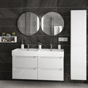Mueble de baño MODULAR MONTERREY Salgar de 120 cm (60+60) con LAVABO doble