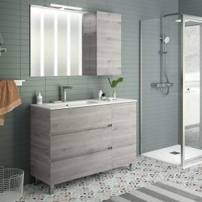 Mueble de baño MODULAR FUSSION LINE Salgar 120 cm (60+40)