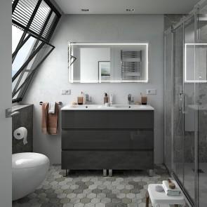 Mueble de baño FUSSION LINE Salgar 120 cm 6 cajones con LAVABO