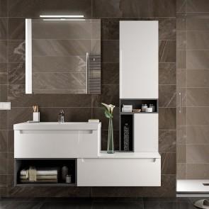 Mueble de baño MODULAR MONTERREY Salgar de 140 cm desplazado
