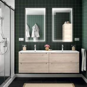 Mueble de baño MODULAR MONTERREY Salgar de 160 cm (80+80) con LAVABO doble